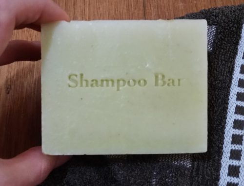 Reduce waste in your bathroom with shampoo bars