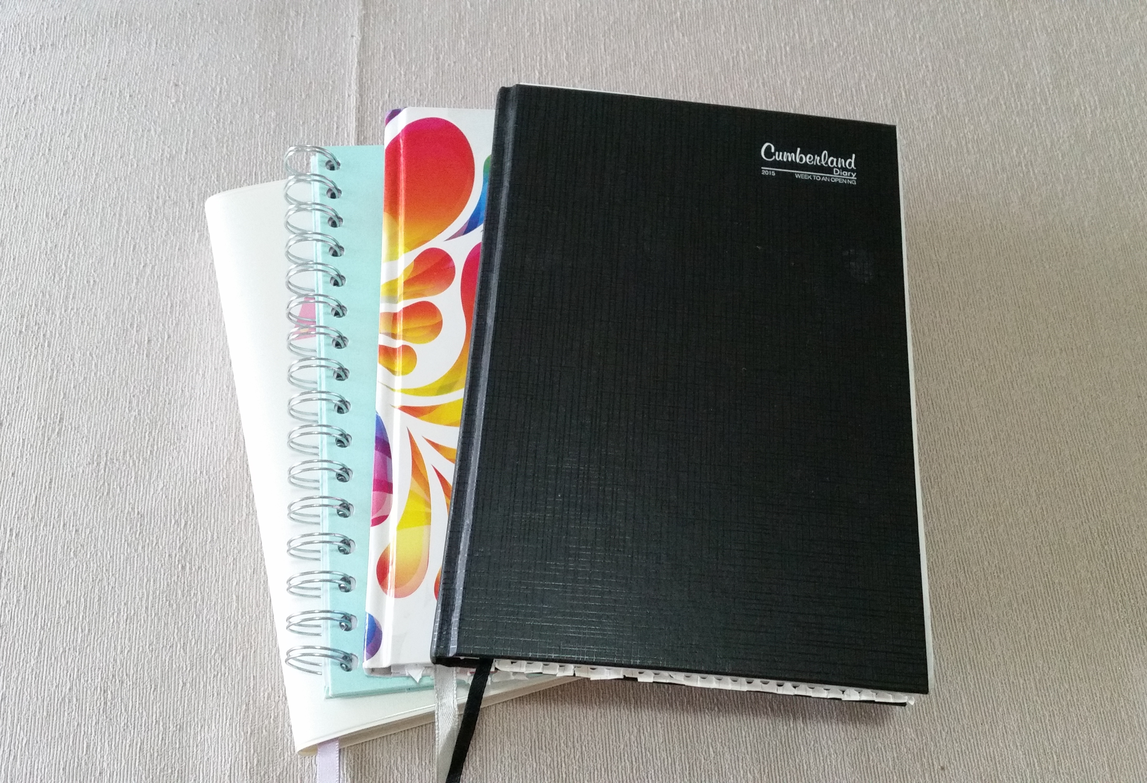 Organising my day with a notebook and a simple method
